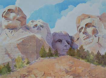 Mount Rushmore, Late Afternoon